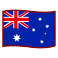 Flag: Australia on emojidex 1.0.34