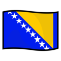 Flag: Bosnia & Herzegovina on emojidex 1.0.34