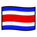Flag: Costa Rica on emojidex 1.0.34