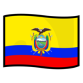 Flag: Ecuador on emojidex 1.0.34