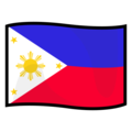Flag: Philippines on emojidex 1.0.34