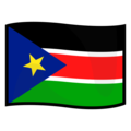 Flag: South Sudan on emojidex 1.0.34