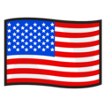 Flag: United States on emojidex 1.0.34