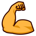 Flexed Biceps on emojidex 1.0.34