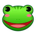 Frog Face on emojidex 1.0.34