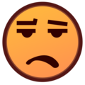 Frowning Face With Open Mouth on emojidex 1.0.34