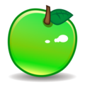 Green Apple on emojidex 1.0.34