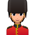 Guard: Medium-Light Skin Tone on emojidex 1.0.34