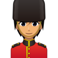 Guard: Medium Skin Tone on emojidex 1.0.34