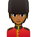 Guard: Medium-Dark Skin Tone on emojidex 1.0.34