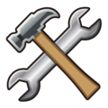 Hammer and Wrench on emojidex 1.0.34