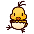 Hatching Chick on emojidex 1.0.34