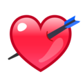 Heart With Arrow on emojidex 1.0.34