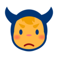 Angry Face With Horns on emojidex 1.0.34