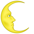 Last Quarter Moon Face on emojidex 1.0.34