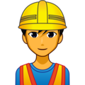 Man Construction Worker on emojidex 1.0.34