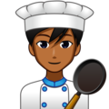 Man Cook: Medium-Dark Skin Tone on emojidex 1.0.34