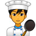 Man Cook on emojidex 1.0.34