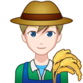Man Farmer: Light Skin Tone on emojidex 1.0.34