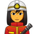 Man Firefighter on emojidex 1.0.34