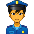 Man Police Officer on emojidex 1.0.34