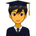 Man Student on emojidex 1.0.34