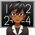 Man Teacher: Medium-Dark Skin Tone on emojidex 1.0.34