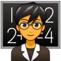 Man Teacher on emojidex 1.0.34