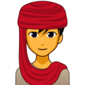 Man With Headscarf on emojidex 1.0.34