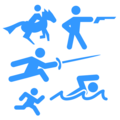 Modern Pentathlon on emojidex 1.0.34