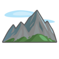 Mountain on emojidex 1.0.34