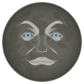 New Moon Face on emojidex 1.0.34