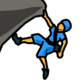 Person Climbing on emojidex 1.0.34
