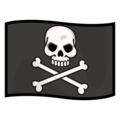 Pirate Flag on emojidex 1.0.34