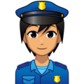 Police Officer: Medium Skin Tone on emojidex 1.0.34