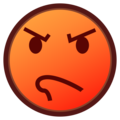 Pouting Face on emojidex 1.0.34