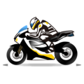 Motorcycle on emojidex 1.0.34