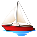 Sailboat on emojidex 1.0.34