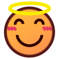 Smiling Face With Halo on emojidex 1.0.34