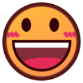 Grinning Face With Big Eyes on emojidex 1.0.34