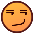 Smirking Face on emojidex 1.0.34