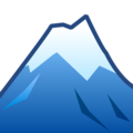 Snow-Capped Mountain on emojidex 1.0.34
