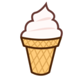 Soft Ice Cream on emojidex 1.0.34