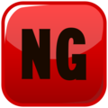 NG Button on emojidex 1.0.34