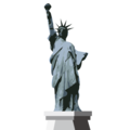 Statue of Liberty on emojidex 1.0.34