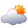 Sun Behind Cloud on emojidex 1.0.34