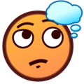 Thinking Face on emojidex 1.0.34