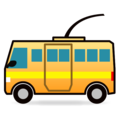 Trolleybus on emojidex 1.0.34