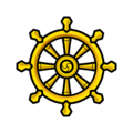 Wheel of Dharma on emojidex 1.0.34