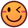 Winking Face on emojidex 1.0.34